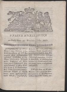 Gazeta Warszawska. R.1782 Nr 75