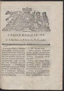 Gazeta Warszawska. R.1782 Nr 82