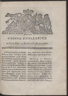 Gazeta Warszawska. R.1782 Nr 85
