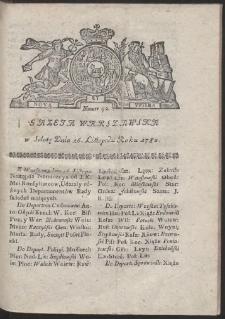 Gazeta Warszawska. R.1782 Nr 92