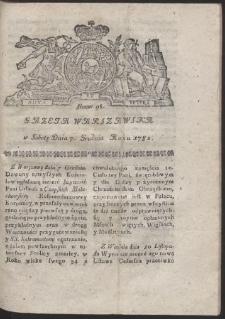 Gazeta Warszawska. R.1782 Nr 98