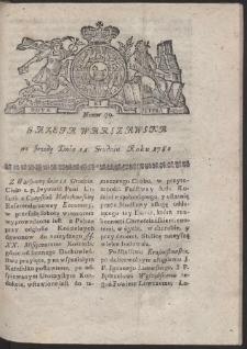 Gazeta Warszawska. R.1782 Nr 99