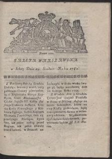 Gazeta Warszawska. R.1782 Nr 100