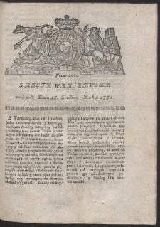 Gazeta Warszawska. R.1782 Nr 101