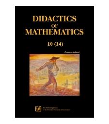 Spis treści [Didactics of Mathematics, 2013, Nr 10 (14)]