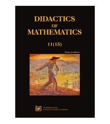 Spis treści [Didactics of Mathematics, 2014, Nr 11 (15)]
