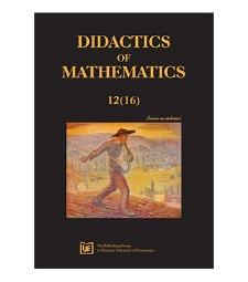 Spis treści [Didactics of Mathematics, 2015, Nr 12 (16)]