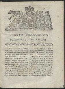 Gazeta Warszawska. R.1784 Nr 10