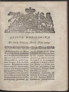 Gazeta Warszawska. R.1784 Nr 20