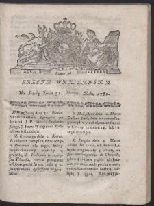 Gazeta Warszawska. R.1784 Nr 26