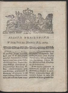 Gazeta Warszawska. R.1784 Nr 29