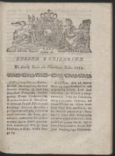 Gazeta Warszawska. R.1784 Nr 32