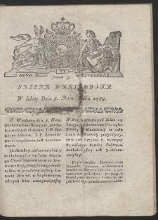 Gazeta Warszawska. R.1784 Nr 37