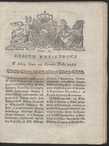 Gazeta Warszawska. R.1784 Nr 47