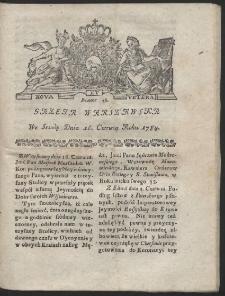 Gazeta Warszawska. R.1784 Nr 48