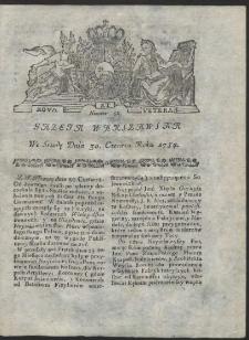 Gazeta Warszawska. R.1784 Nr 52