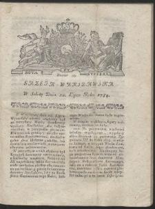 Gazeta Warszawska. R.1784 Nr 55