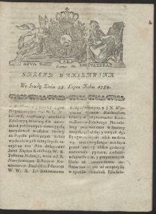 Gazeta Warszawska. R.1784 Nr 60