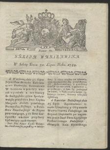 Gazeta Warszawska. R.1784 Nr 61