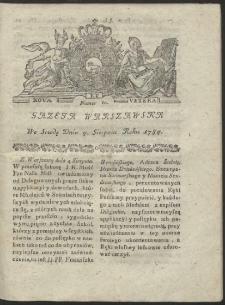 Gazeta Warszawska. R.1784 Nr 62