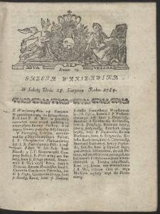 Gazeta Warszawska. R.1784 Nr 69