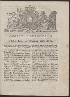 Gazeta Warszawska. R.1784 Nr 73