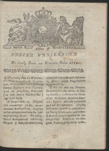 Gazeta Warszawska. R.1784 Nr 76