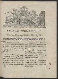 Gazeta Warszawska. R.1784 Nr 77