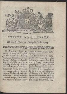 Gazeta Warszawska. R.1784 Nr 92