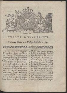 Gazeta Warszawska. R.1784 Nr 93