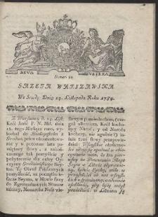 Gazeta Warszawska. R.1784 Nr 94