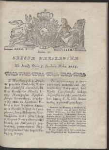 Gazeta Warszawska. R.1784 Nr 98