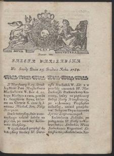Gazeta Warszawska. R.1784 Nr 100
