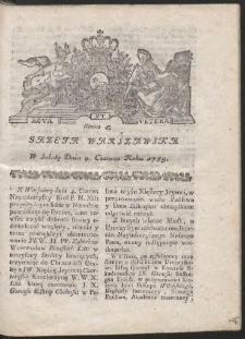 Gazeta Warszawska. R.1785 Nr 45