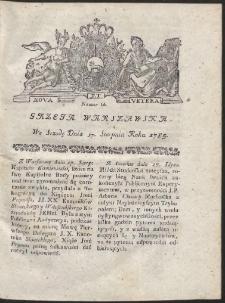 Gazeta Warszawska. R.1785 Nr 66