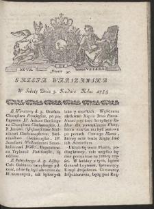 Gazeta Warszawska. R.1785 Nr 97