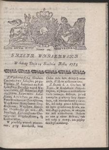 Gazeta Warszawska. R.1785 Nr 103