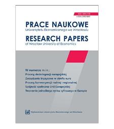 Spójność terytorialna gmin w Polsce w aspekcie gospodarczym