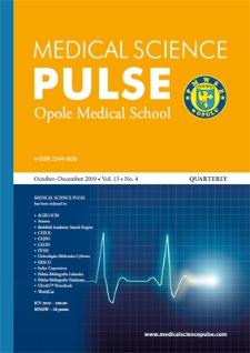 Medical Science Pulse. October-December 2019, Vol. 13, No. 4