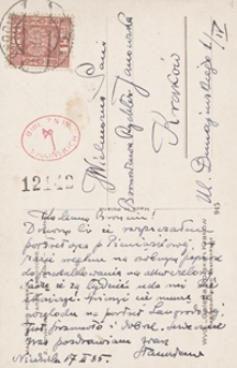 [Listy Stanisława Janowskiego do Bronisławy Rychter-Janowskiej, siostry, z lat 1935-1940]