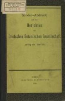 Ueber Curvenselection bei Chrysanthemum segetum