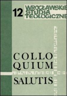 Colloquium Salutis : wrocławskie studia teologiczne. 12 (1980)