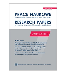 The relationship between earnings management and the financial performance of an enterprise – evidence from the Warsaw Stock Exchange