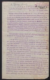 [Materiały dotyczące działalności Rady Republiki i rządu Ukraińskiej Republiki Ludowej oraz Ukraińskiej Ludowo-Republikańskiej Partii za lata 1918-1921]