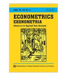 Spis treści [Econometrics = Ekonometria, 2020, Vol. 24, No. 2]