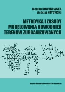 Metodyka i zasady modelowania odwodnień terenów zurbanizowanych