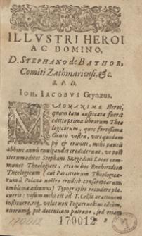 Enchiridii Locorum Communium Theologicorum, Rerum, Exemplorum, atq[ue] Phrasium sacrarum [...] Promptuario [...]. - [Ed. 6]