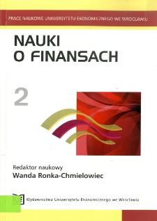 Doświadczenia krajów europejskiech w zastosowaniu współpłacenia w finansowaniu ochrony zdrowia. Prace Naukowe Uniwersytetu Ekonomicznego we Wrocławiu, 2009, Nr 75, s. 9-21