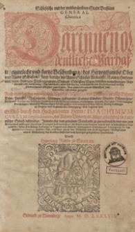 Schelsische und der weitberümbten Stadt Bresslaw General Chronica [...]