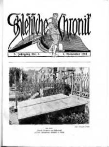 Schlesien : Illustrierte Zeitschrift für die Pflege heimatlicher Kultur. Zeitschrift des Kunstgewerbevereins für Breslau u. die Provinz Schlesien, 5. Jahrgang, 1911, 1 November, Nr 3